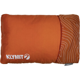 Klymit Drift Car Camp Pillow Large, orange